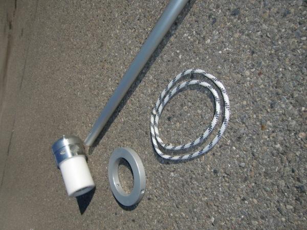 Drehkopfausleger DKA 150 mit Ring