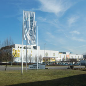 ROFA H/E - Ausleger-Fahnenmasten